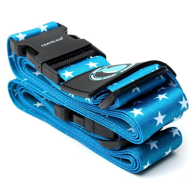 Bezpečnostní popruh na cestovní kufr - různé barvy 1