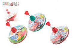 Káča točící plast průměr 16cm 3 druhy v sáčku RM_56220024