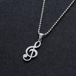 Přívěsek houslový klíč
