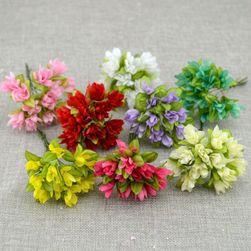 Искусственные текстильные цветы - 8 расцветок