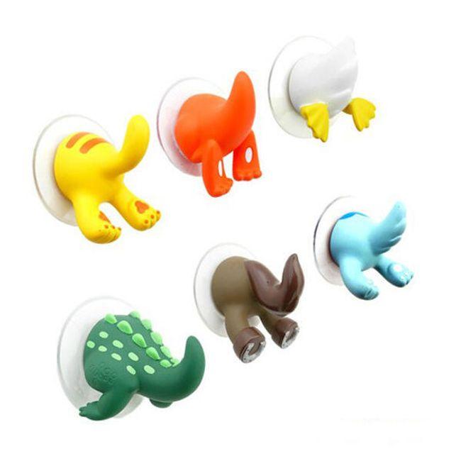 Veselé dětské háčky ve tvaru zvířátek 1