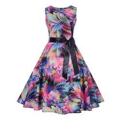 Vintage šaty s áčkovou sukní - 3 varianty