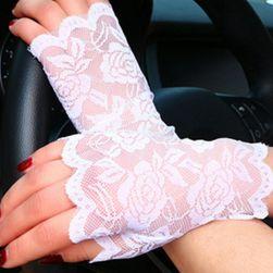 Koronkowe rękawiczki - 2 kolory