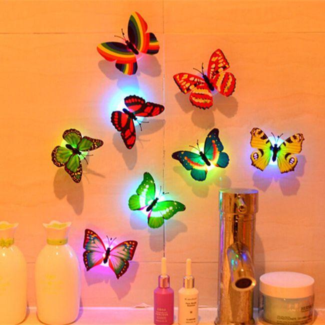 Set svetlećih LED leptirića - 10 komada 1