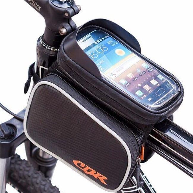 Сумка для велосипедов с карманом для мобильного телефона 1