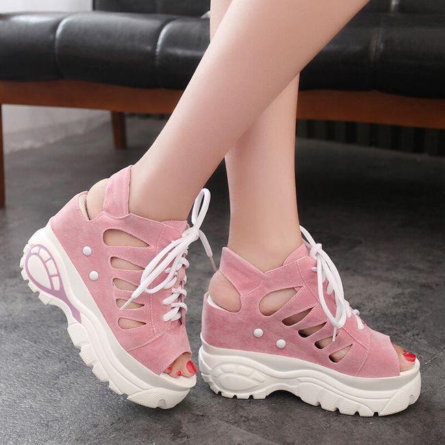 Női platform cipő Andrea 1