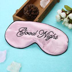 Maska na spaní s nápisem - 4 barvy