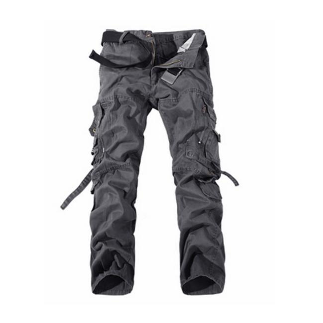 Pánské kalhoty s kapsami - Šedá - 10 1