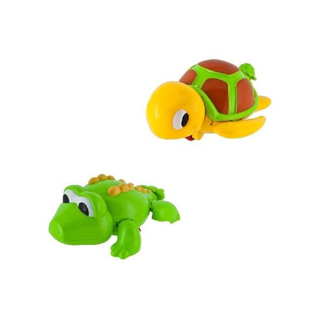 Plovoucí krokodýl či želva 1