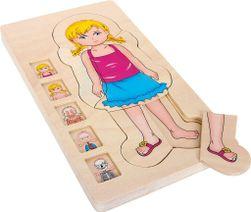 Small Foot Drevené puzzle anatómie RZ_058140