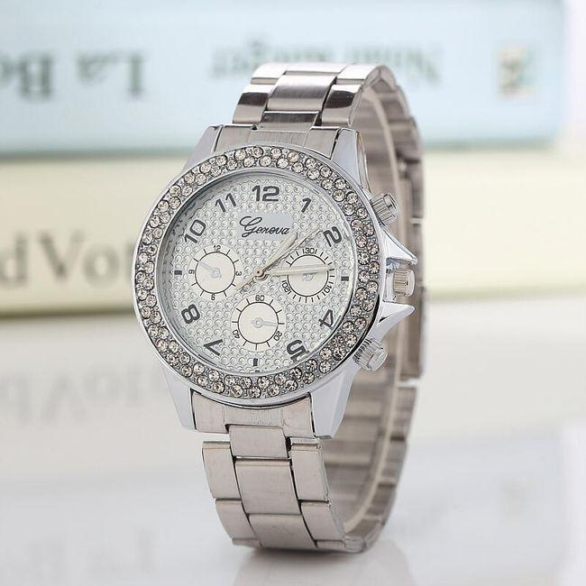 Dámské zdobené hodinky v luxusním provedení - 3 barevné varianty 1