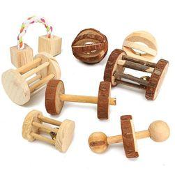 Drvena igračka za glodare DHM452