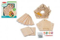 Kreatívna sada Vyrob si vtáčiu búdku v krabici 24x26x4,5cm RM_88800008