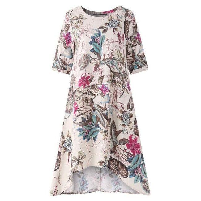 Kısa kollu bayan elbise Annabelinda 1