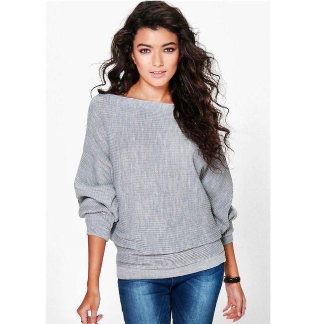 Ženski ležerni džemper Mira - 6 varijanti 1