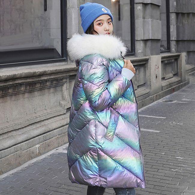 Damski zimowy płaszcz Alma 1