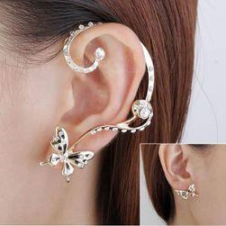 Pillangó kövekkel - fülbevaló