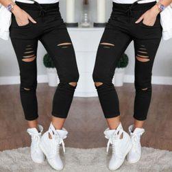 Női szaggatott nadrág - 5 változatok