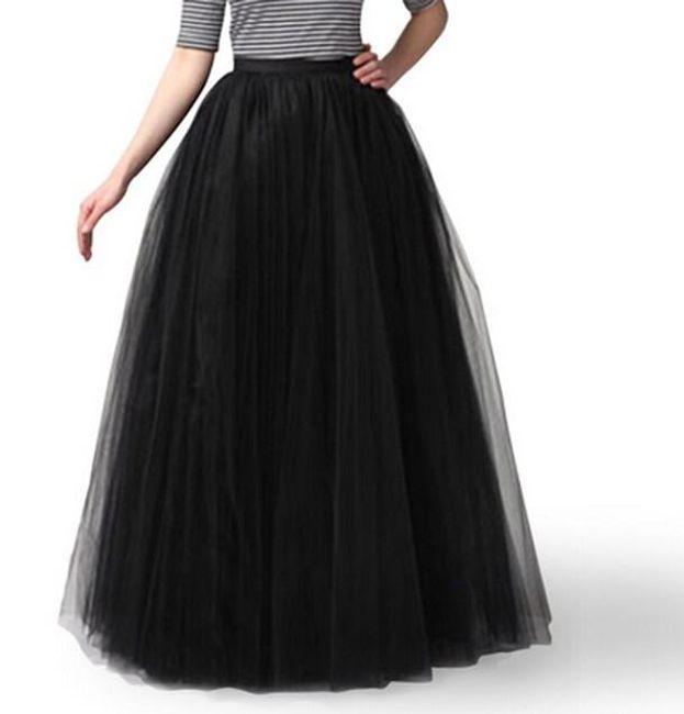 Maxi dlouhá sukně na léto 1