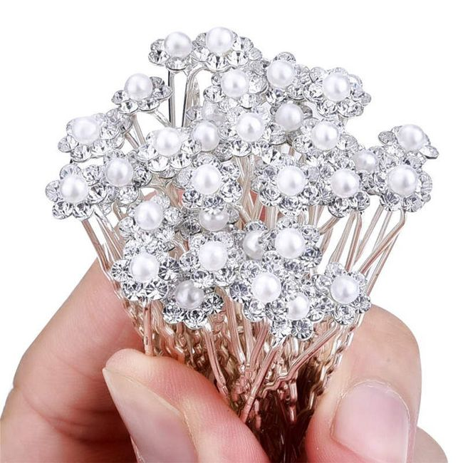 Hajba dekoratív gyöngy - 20 darab 1