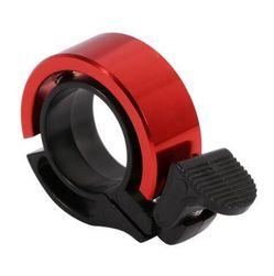 Metalowy mini dzwonek na rower - 4 kolory Czerwony