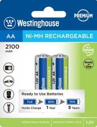 Újratölthető akkumulátor NiMH AA NiMH 2100mAh 1.2V, buborékfólia 2db PD_1124028