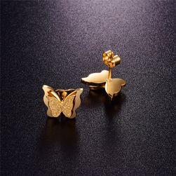 Női fülbevaló - pillangó