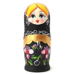Ruské malované matrjošky - 5 v 1