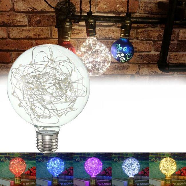 E27 alapú LED-es izzó eredeti kivitelben 1