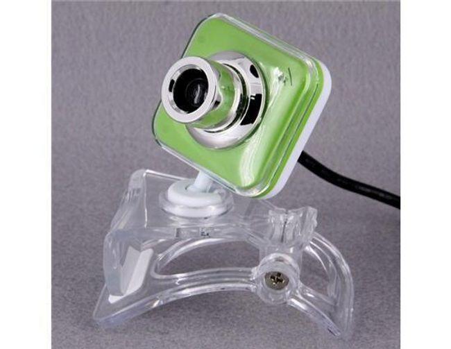 Zelená mini webkamera s mikrofonem 1