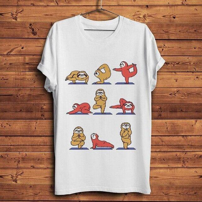 Męska koszulka z krótkim rękawem Sloth 1