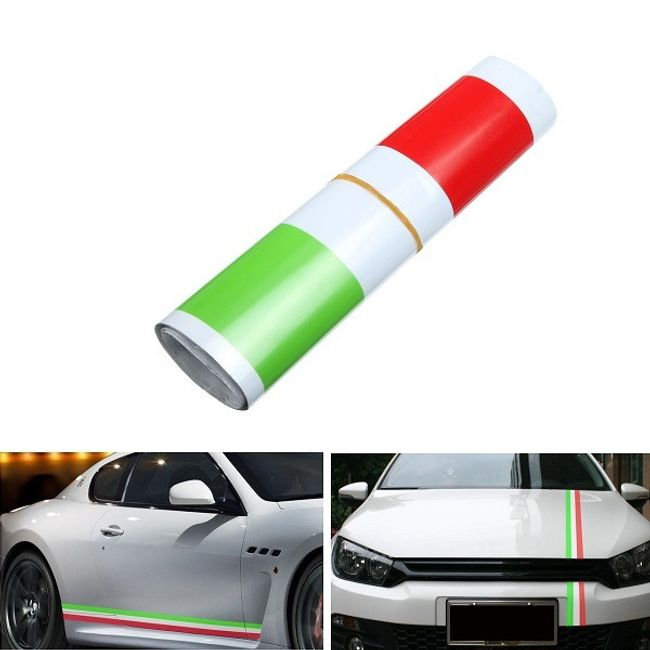 Autocolant auto - steagul Italiei 1