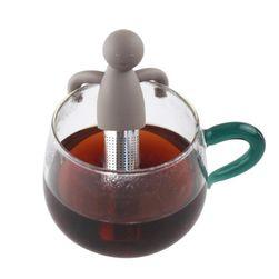 Сито за чай в дизайн на човече