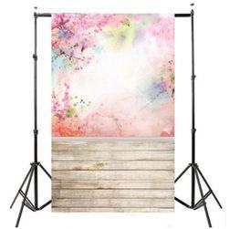 Pozadina za fotoatelje 210 x 150 cm - apstraktno proleće