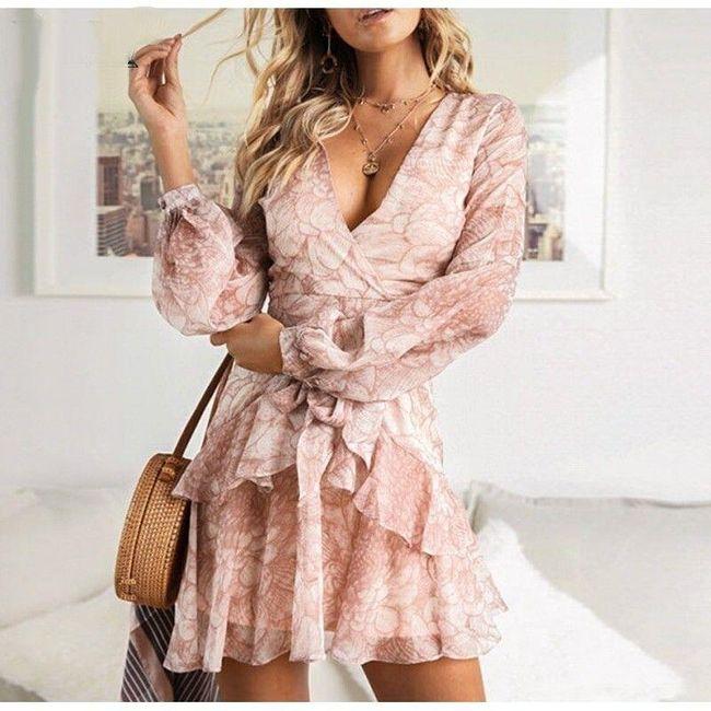 Damska sukienka z długimi rękawami Tess 1