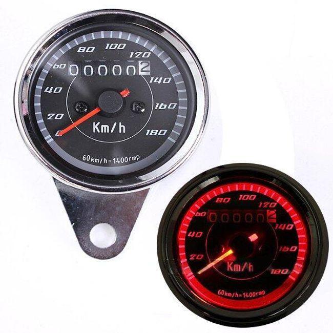Универсальный спидометр с одометром для мотоцикла 1