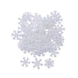 Декоративные снежинки DV10 Белый