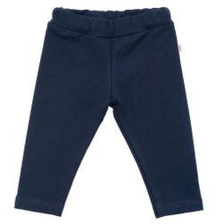 Bawełniane legginsy dziecięce ciemne RW_leginy-Gaja665