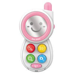 Detský telefónik so zvukmi pink RW_41504