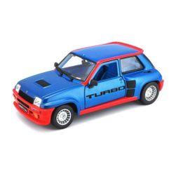 Renault 5 Turbo 1:24 modrý PD_1343351
