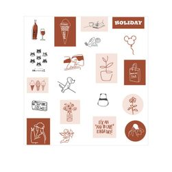 Sticker set Shelley