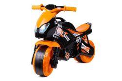 Odrážadlo motorka oranžovo-čierna plast v sáčku 35x53x74cm 24m + RM_00880074