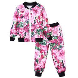 Dívčí mikina s kalhotami - 7 variant