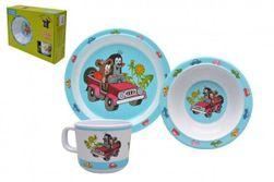 Dětské nádobí sada Krtek plast 3ks v krabici 31x23x8cm 6m+ RM_32068717