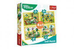Puzzle 4v1 Rodina Treflíků 20,5x28,5cm v krabici 28x28x6cm RM_89134337