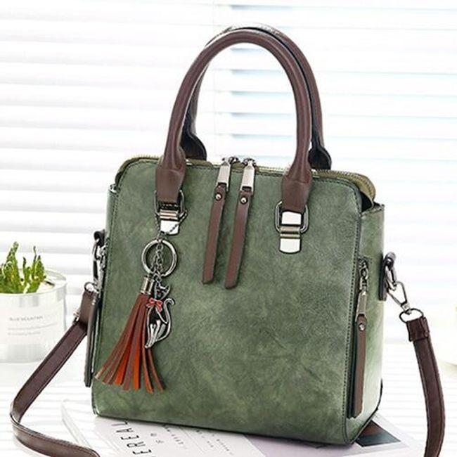Vintage ženska torbica preko ramena - 6 boja 1