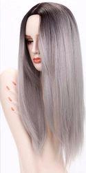 Дамска перука със стилна прическа - 4 цвята