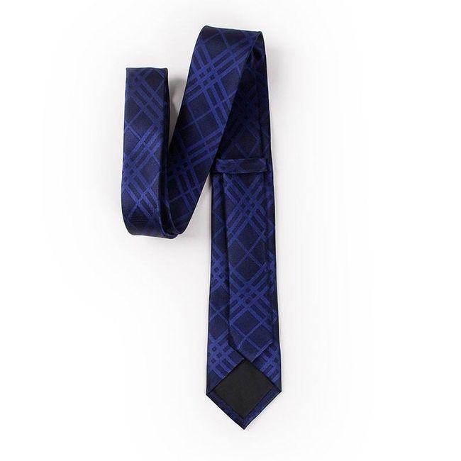 Fekete-fehér elegáns férfi nyakkendő.
