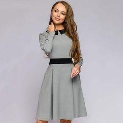 Ženska haljina sa dugačkim rukavima Fleury