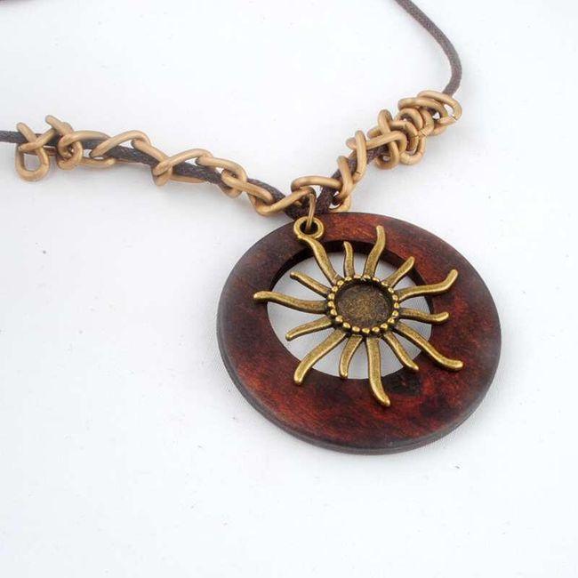 Dámský vintage náhrdelník - slunce v duši 1